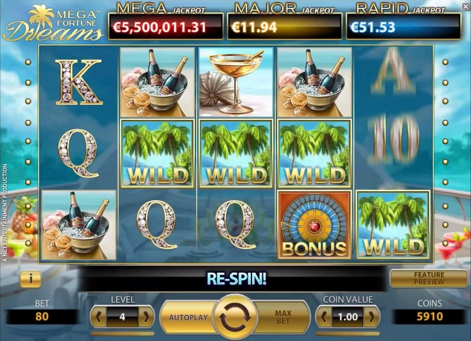 Mega Fortune Dreams screenshot
