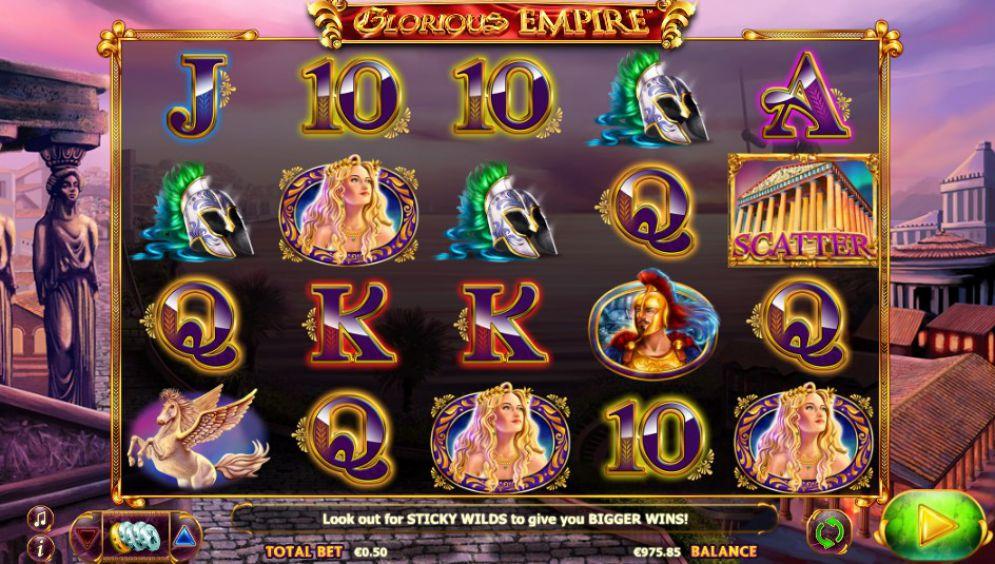 Glorious Empire Slot NextGen Gaming Screenshot