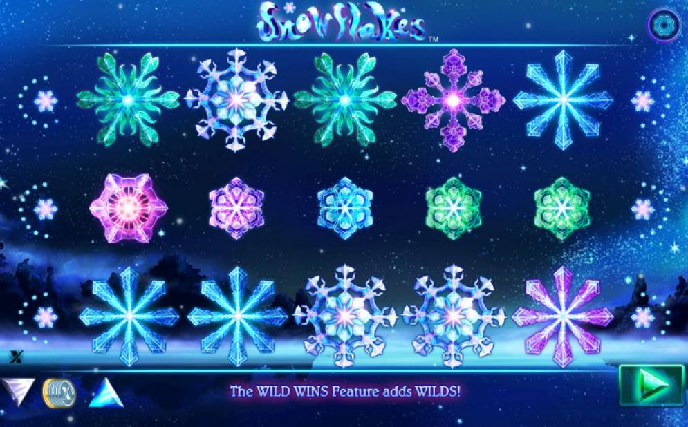 Snowflakes Slot NextGen Gaming Review Screenshot
