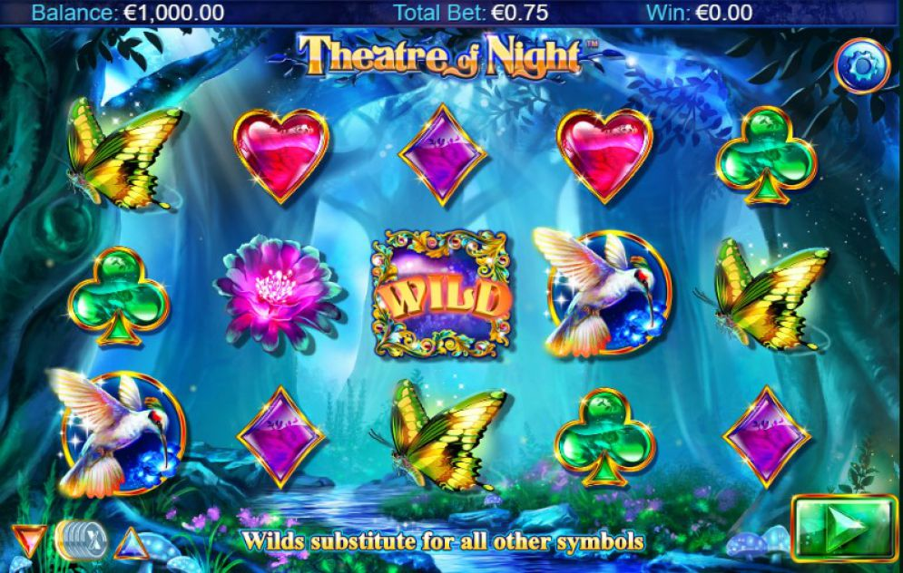 Theatre of Night Slot NextGen Gaming Review Screenshot