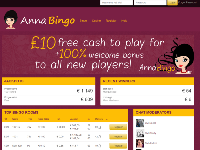 Anna Bingo Review – Expert Ratings and User Reviews