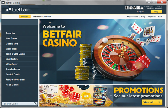 Betfair casino no deposit bonus