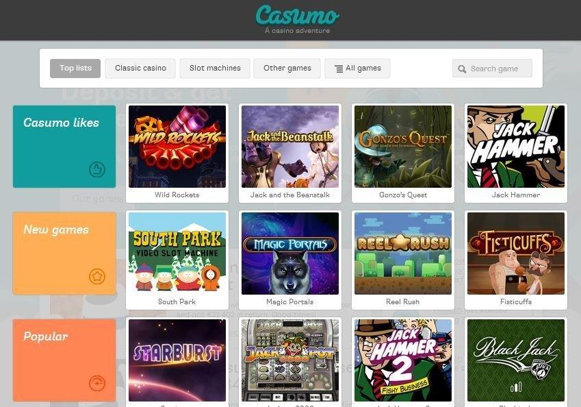CasumoGames Freespins Bonus
