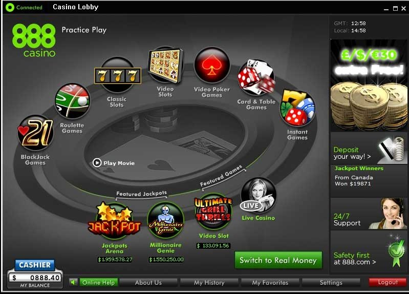 Casino 888 Opiniones