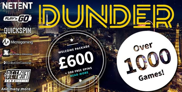DunderPromo Freespins bonus